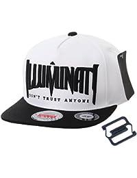 f9a41d7b1f0 WITHMOONS Snapback Hat Illuminati Embroidery Hip Hop Baseball Cap AL2389