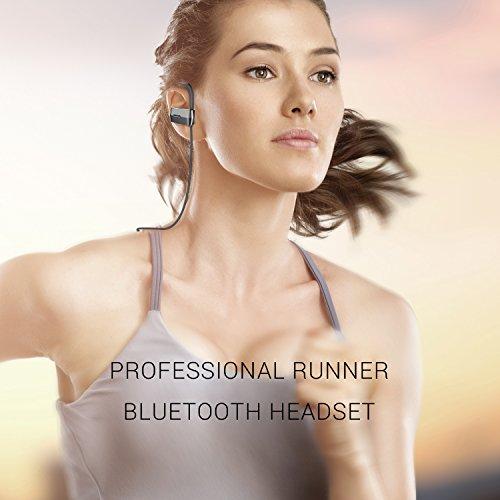 UMIDIGI Auriculares Estéreo Bluetooth 4.1 Inalámbricos Deportivos Resistencia IPX4 al agua, Manos libre con 19.99€