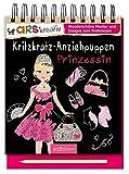 Kritzkratz-Anziehpuppen Prinzessin