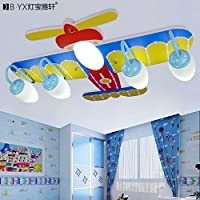 LTERD Fumetto creativo occhio LED aeromobili illuminazione