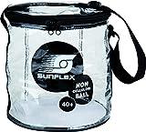 BALL-TASCHE UNGEFÜLLT sunflex BALLTASCHE aus PVC, transparent, ungefüllt.