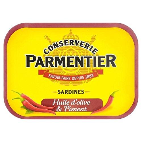 H. Sardines Parmentier D'Huile D'Olive Et Piment 135G - Paquet de 6