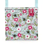 Pretty Bee Cotton Peg Bag With Wipe-C...