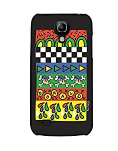 Pick Pattern with Exclusive DISNEY Characters Back Cover for Samsung I9190 Galaxy S4 mini