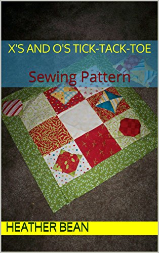 xs-and-os-tick-tack-toe-sewing-pattern-bean-bag-designs-book-54-english-edition