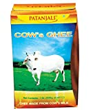 Patanjali Cow ghee is full of nutritive properties and an ideal diet. Cow ghee increases memory, intellect, the power of digestion, Ojas, Kapha and fat.Regular consumption of ghee or inclusion of ghee as part of the diet, is recommended for those see...