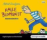 Kalle Blomquist Meisterdetektiv (4 CD): Ungekürzte Lesung, ca. 240 Min.
