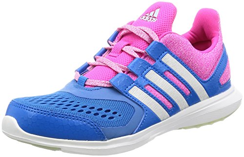 adidas Hyperfast 2.0 K, Zapatillas de Deporte para Niños, Azul (Azuimp/Plamat/Rosimp), 37 1/3 EU