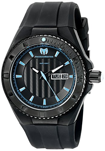 technomarine-mens-quartz-watch-with-black-dial-analogue-display-and-black-silicone-strap-tm-115166
