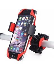 ARMRA Bike Phone Halter Fahrradhalterung Verstellbar Motorrad Clip Griff Lenkerständer Cradle Für IOS Android Smartphones GPS Geräte