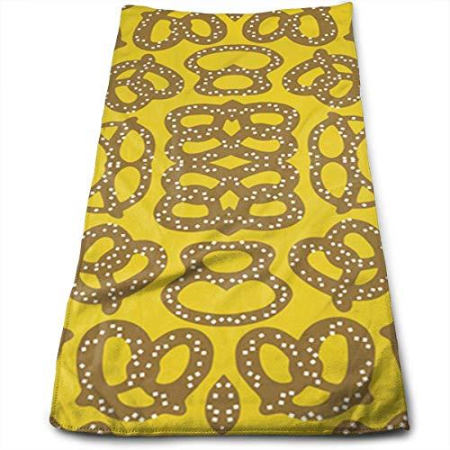 QuGujun royal Velvet Towels Pretzels Fashion Cool Fade-Resistant Absorbent Beach/Shower Towel -