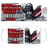 Taza Día del padre Star Wars numero uno Darth Vader