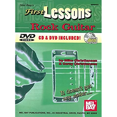 First Lessons Rock Guitar. For Chitarra - First Lessons Rock Guitar