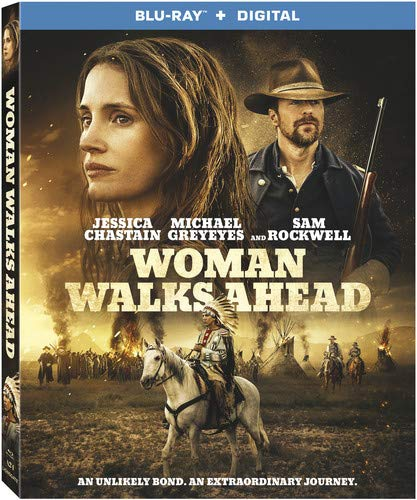 Woman Walks Ahead [Edizione: Stati Uniti] [Italia] [Blu-ray]
