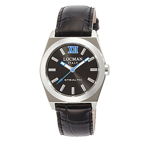 Locman Italy Women's Only Time Watch Stealth Lady Black R. 204