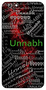 Unnabh (Highest) Name & Sign Printed All over customize & Personalized!! Protective back cover for your Smart Phone : Gionee S6