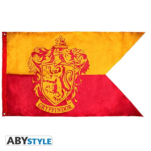 Abystyle harry potter bandiera grifondoro per adulti, 70x120 cm, abydct023