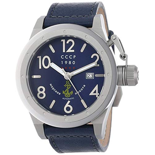 CCCP DELTA Leather Watch - CP-7017-04