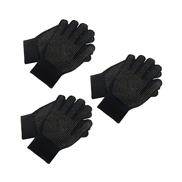 3 Pairs Adults Magic Stretch Driving Gloves With Grip Winter Warmer Accessory 51eHBYU2MHL