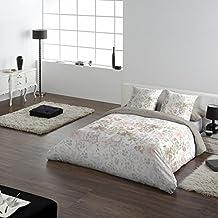 COTTON ART - funda Nordica Modelo TRUSARDI cama de 90 (150X260cm) + 1 FUNDA DE ALMOHADA (45X110cm) ALGODÓN 100% Disponible para cama de 90 105 135 150 y 180.