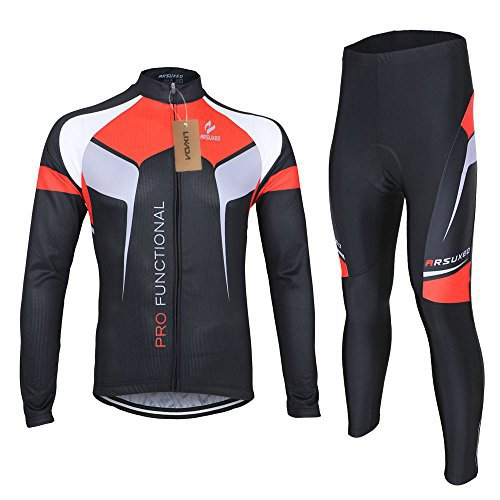 Lixada Farradkleidung Fahrrad Anzug Radtrikot + Hose