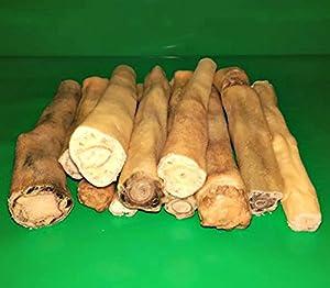 500g 15,2cm bœuf Taureau Vache Tails hypoallergénique pour chien Friandise à mâcher faible odeur comme Pizzle