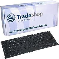 Orig Tastatur Ersatz Austausch Deutsch QWERTZ mit Hintergrundbeleuchtung für Apple Macbook Air 13,3 A1369 A1466 MC965 MC966 MC503 MC504 MD231 MD232 MD2332