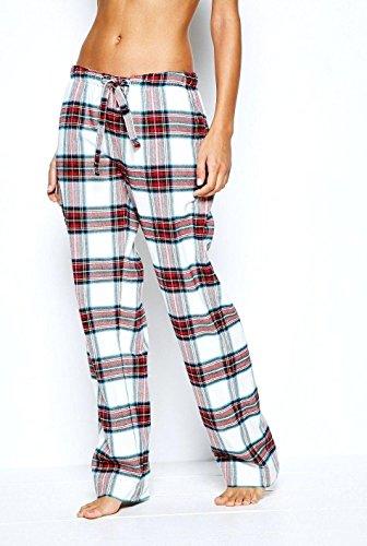 - 51eHEZuzuML - New Women's Ladies Designer Pyjama Bottoms Lounge Pants Trousers Night PJS 8-18
