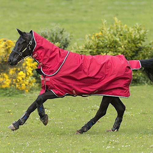 Horseware Amigo Hero ACY Plus 200g Medium mit Halsteil Red/White (160) -
