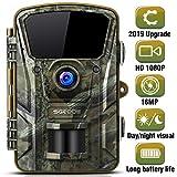 Wildlife Trail Camera, SGODDE 16MP 1080P HD Hunting Game Cameras with 42Pcs IR