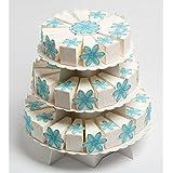 Tres Pisos Pearlised–Expositor para tartas–360x 340–Caja para tartas de boda