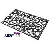 Alium Cast Iron Welcome Door Mat