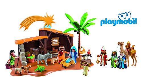 1d3deb4675e Nuevo Belen Playmobil con Luz