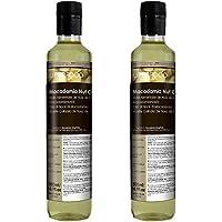 Huile Alimentaire de Macadamia BIO - 1 Litre (2x500ml)