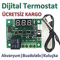 Dijital Termostat 12v Akvaryum,Kuluçka,Buzdolabı Termostat thr205