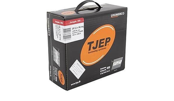 TJEP GR 28//63 D-Kopf Streifennägel Rille Verzinkt 2,8x63mm Jumbobox