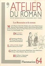 L'atelier du roman, N° 64, Décembre 2010 : Les Roumains et le roman