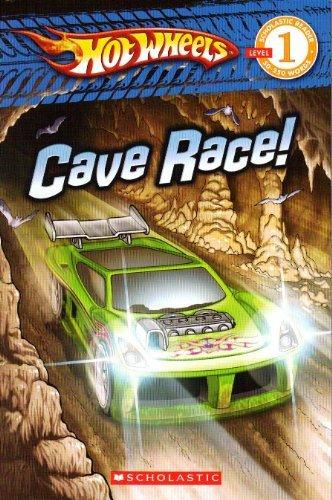Portada del libro Cave Race (Hot Wheels)