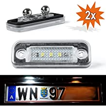 Do.LED interno LED NUMBERPLATE Xenon Blanco