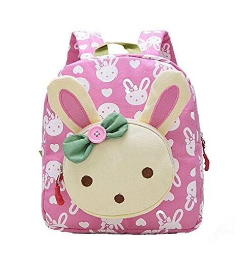 DNFC Kindergartenrucksack Kindergartentasche Babyrucksack Kinderrucksack Schöne Kindertasche Kindergarten Schulrucksack Kleinkinder Rucksack Kinder Schultasche Backpack (Rosa) (Geburtstag Sachen Für Mädchen)