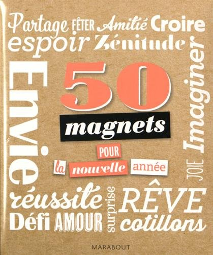 50 magnets pour la nouvelle année par Marabout