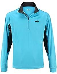 Woodworm Golf Mens 1/2 Zip Tech Pullover / Sweater / Jumper