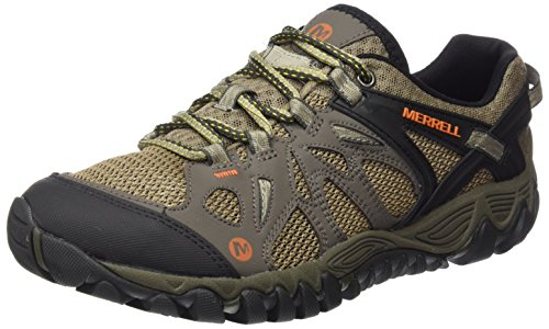 Merrell All Out Blaze Aero Sport Scarpe da arrampicata Uomo, Beige (Khaki), 43 EU (8.5 UK)
