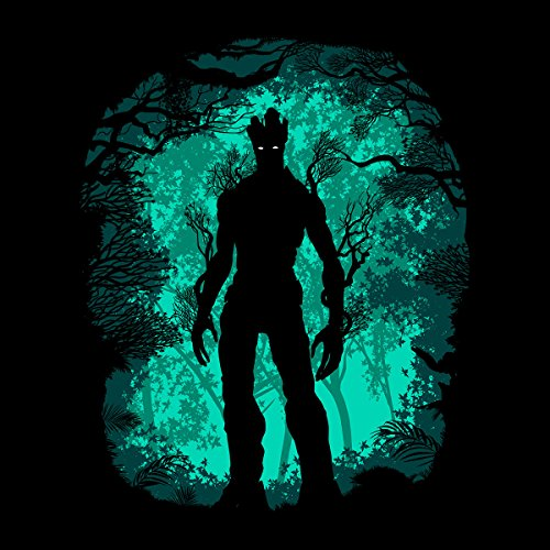 Guardians Of The Galaxy Groot Forest Women's Sweatshirt Black
