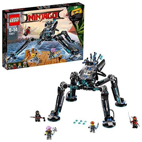 LEGO 70611 The Ninjago Movie 70611-Nya's Wasser-Walker, Bunt - Mech-modell-kit