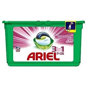 Ariel 3en1 Pods Ecodoses Fresh Sensations Lessive en Capsules 35 Lavages