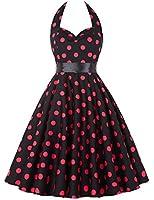 GRACE KARIN®Women 50s Vintage Polka Dots Pinup Swing Dress 7Colors XS~3XL