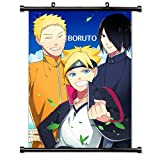 BestPlaceAnime Boruto Anime Wall Scroll Poster (32x45) inches