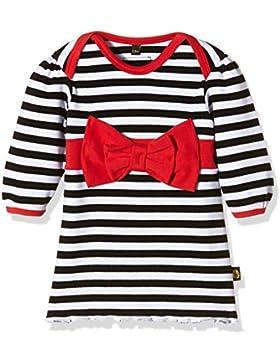Rockabye-Baby Bow Dress, Vestito Unisex - Bimbi 0-24, Nero/Bianco, 3 - 6 mesi