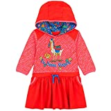 Oilily Mädchen Kleid Tamtam mit Kapuze-98 - Kindermode : Mädchen